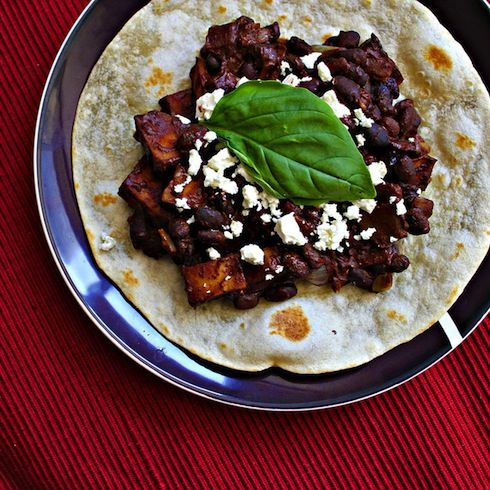 Chocolate Turtle Bean Tostadas Recipe.. only acceptable way to eat ...