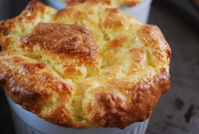 blue cheese souffle | Favorite Recipes | Pinterest