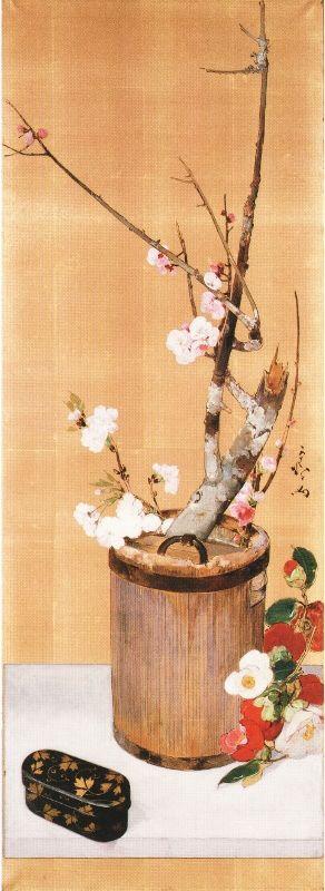 Japanese art  Kiyoo KAWAMURA (1852~1934), Japan