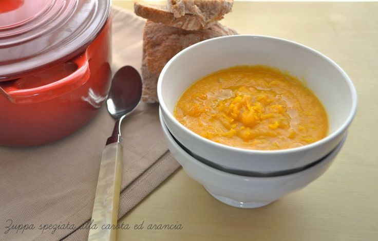 carrot and orange soup | From my Kitchen with love | Pinterest