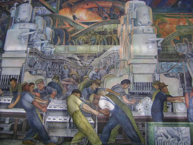 Diego rivera dia detroit pinterest for Diego rivera dia mural