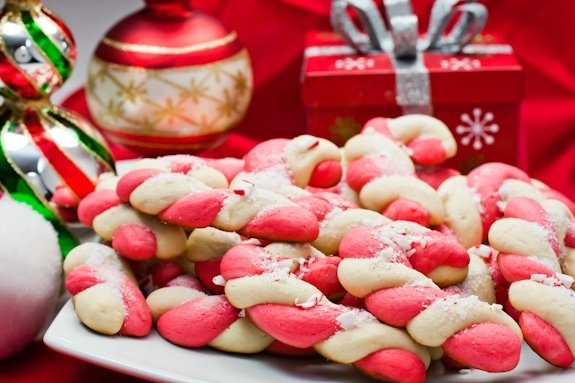 Candy Cane Cookies | Christmas Forever by Asher Socrates | Pinterest