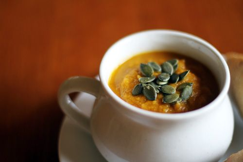 Carrot, Apple & Ginger Soup | Soups and Stews | Pinterest