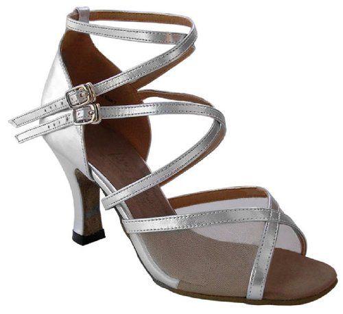 1630 Bundle with Plastic Dance Shoe Heel Protectors 3 Inch Heel: Shoes