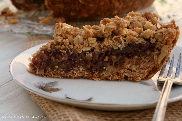 Date Crumb Bars (or Date Crumb Pie) | Recipe