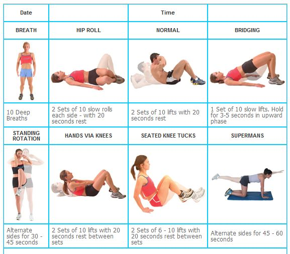 ABDOMINAL EXERCISES FOR BEGINNERS | A New & Improved Me ...
