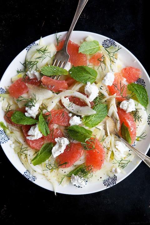 fennel grapefruit salad | Salads | Pinterest