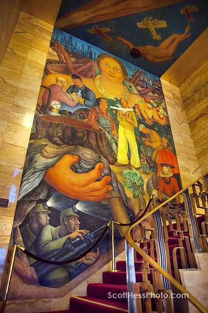 Diego rivera mural art pinterest for Diego riveras mural