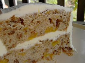 Vegan Thyme: Vegan Hummingbird Cake with Orange Buttercream Frosting