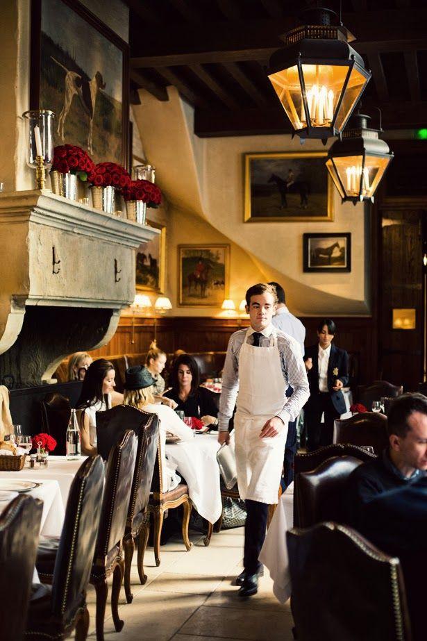ralph lauren 39 s restaurant in paris favorite places spaces pinterest. Black Bedroom Furniture Sets. Home Design Ideas