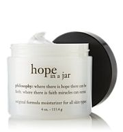 hope in a jar by philosophy - love this moisturizer