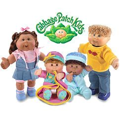 I had a serious obsession with cabbage patch dolls!