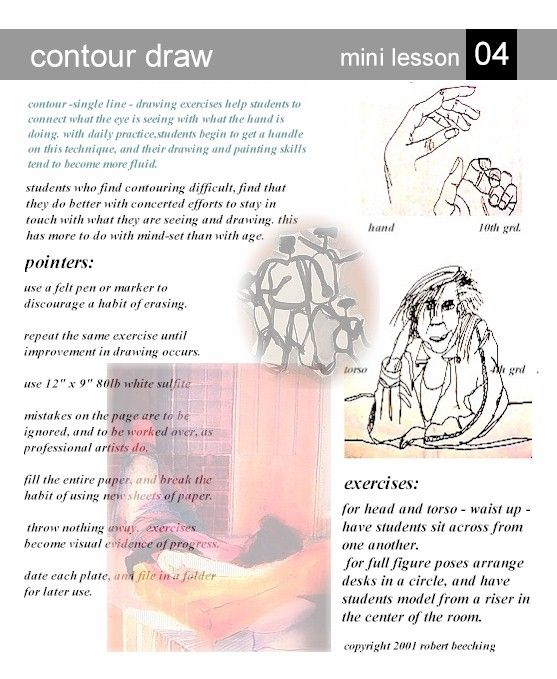 Contour Line Drawing Lesson Plan : Pin by ari on amiddleschoolart pinterest
