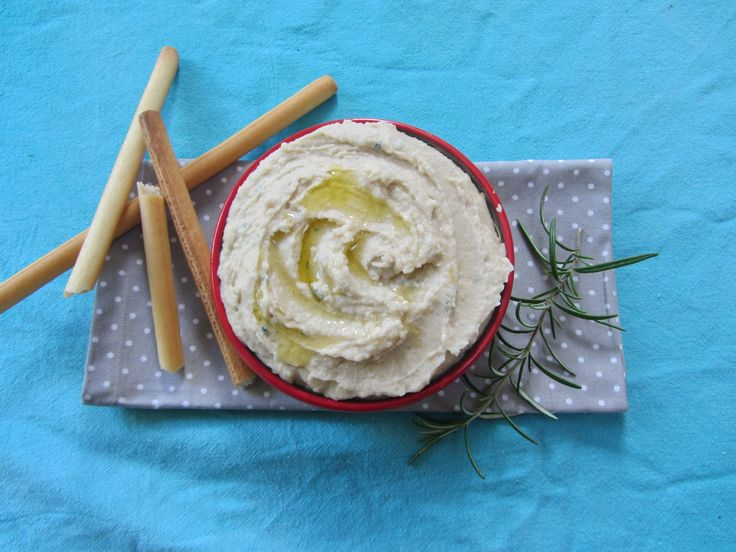 Cannellini bean and rosemary hummus | veganing | Pinterest