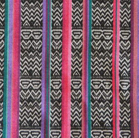 black & pink tribal print fabric | Interior Inspiration ...