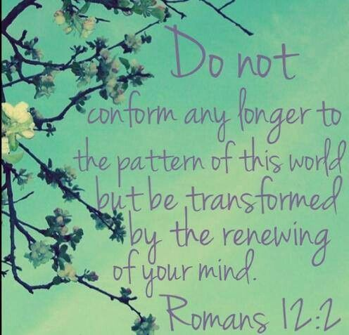 Image result for romans 12:2 images