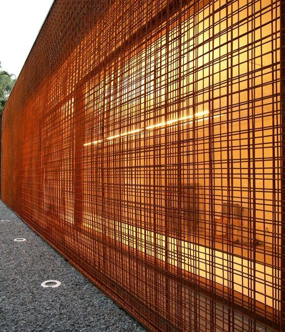reinforcing steel mesh screen landscape pinterest. Black Bedroom Furniture Sets. Home Design Ideas