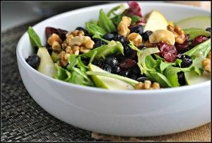 Pear salad | hors d'euvres & salads | Pinterest