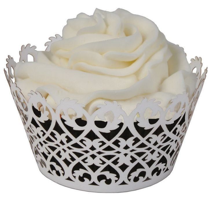 jumbo cupcake liners  norpro giant muffin cups  white  pack of 500