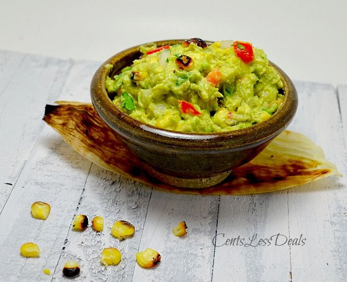 Grilled Corn Guacamole recipe. Previous pinner wrote: Possibly call it ...