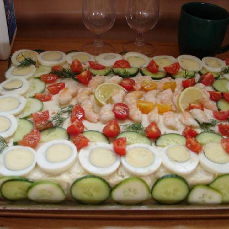 Savoury Sandwich Cake-Smorgastorta Ingredients 27 slices crusts (bread ...
