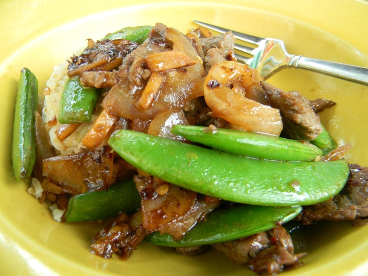 Ginger Beef Stir Fry-Angie's Pantry