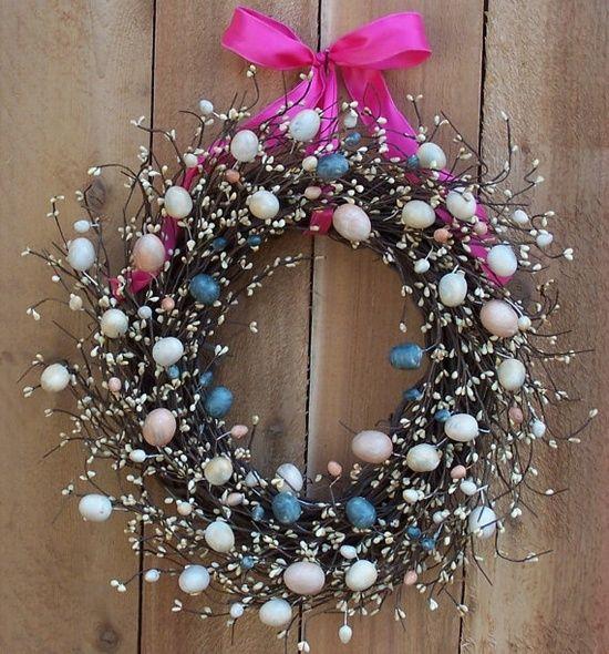 Easter Spring Wreath Ideas Diy Pinterest