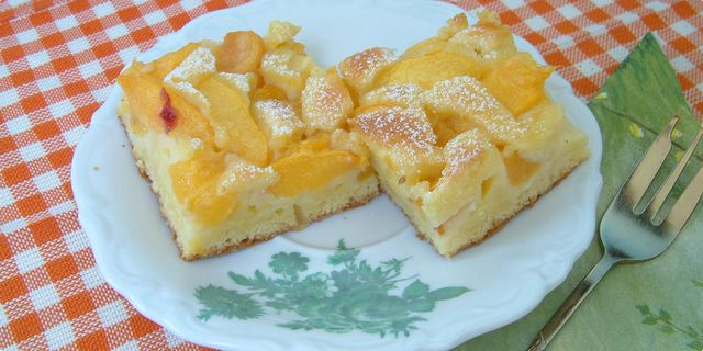 Peach Yogurt Cake With Cinnamon Glaze Recipes — Dishmaps
