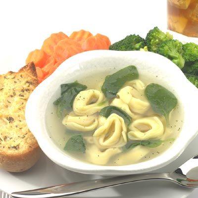 Spinach and Tortellini en Brodo | Recipe