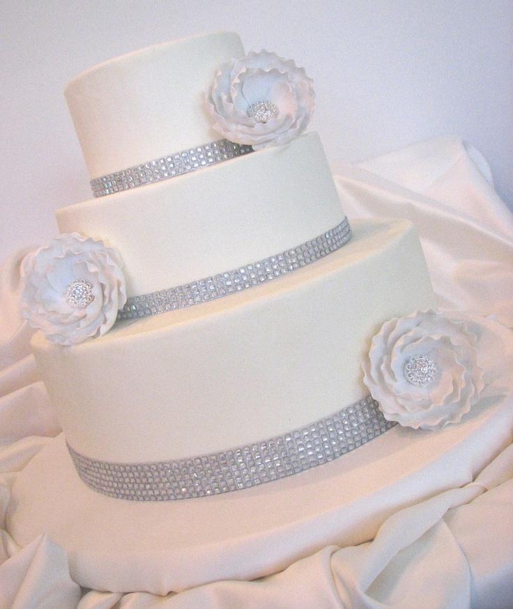 WEDDING CAKE BLING Yummy Cake Ideas Pinterest