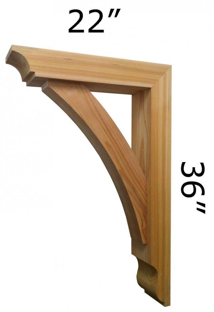 Pin By Pro Wood On Wooden Brackets Western Red Cedar Pinterest