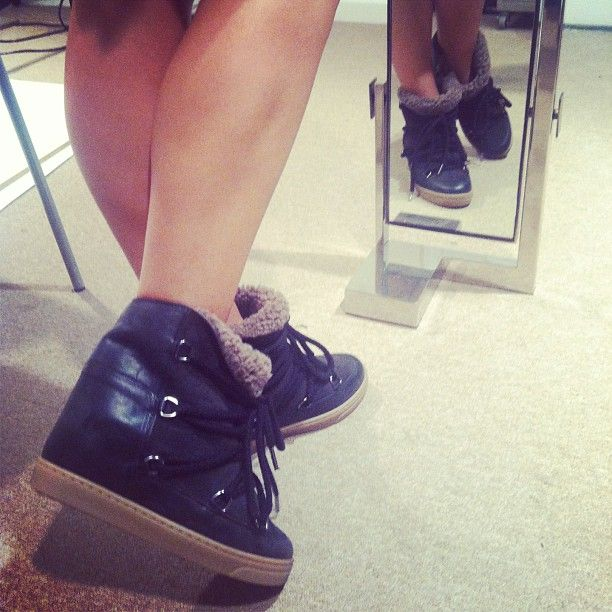 Love these new #isabelmarant shoes