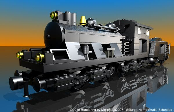 how to build a lego engine that works
