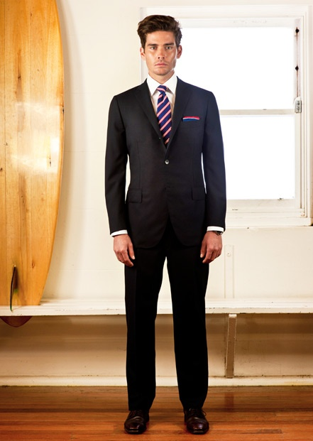 black suit with coral navy tie my wedding theme