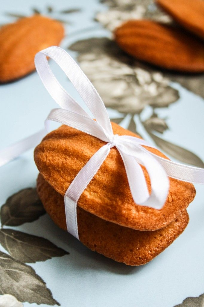 Honey and Vanilla Madeleines | Food | Pinterest