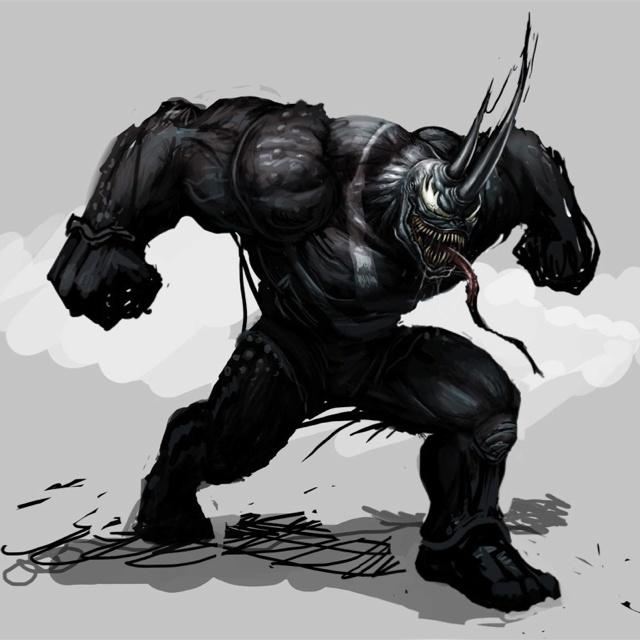 Black Spiderman Vs Rhino