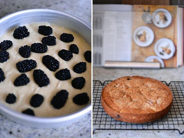 buttermilk cake with blackberries | desserts | Pinterest