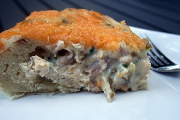 Chicken Quesadilla Pie | Please Feed Me | Pinterest