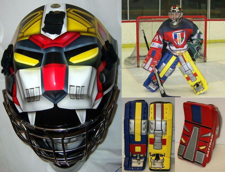 Voltron Hockey GearVoltron Helmet