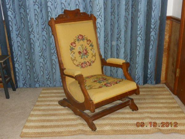 Eastlake Victorian Rocking Chair  House Ideas  Pinterest
