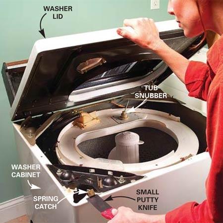 how to fix washing machine leak