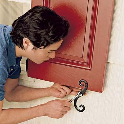 How To Hang Exterior Shutters