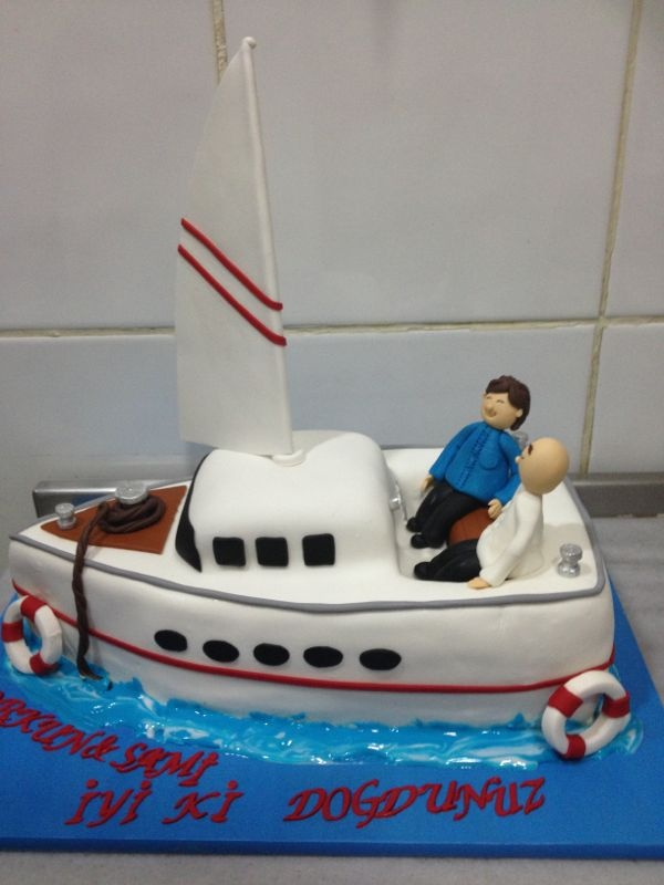 Cake Images Boat : Pin by nazli cergel on cake & patisserie & food Pinterest