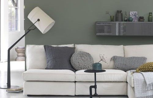 Keuken Olijfgroen : Ikea-Bank-Kivik