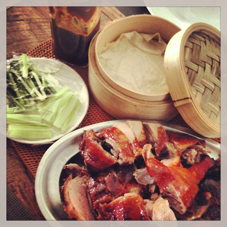 More like this: chinese style , ducks and pancakes .