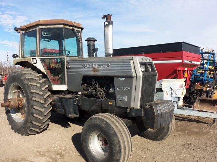 White 4 270 Tractor : White field boss tractor farm equipment