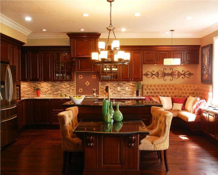Pinterest for Traditional elegant kitchens