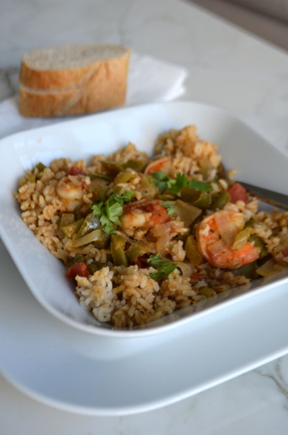New Orleans style shrimp & rice | Foodies | Pinterest