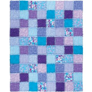 Make an Easy Rag Baby Quilt - About