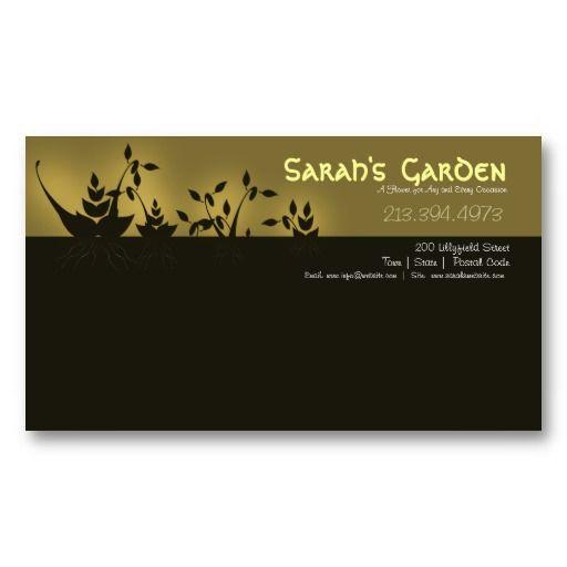 Florist/Flower Business/Shop Business Card: pinterest.com/pin/303289356126600047